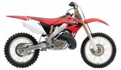 Honda CR250R service manual repair 2005-2007 CR250