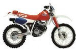 Honda XR200R / XR250R service manual repair 1984-1985 XR200 XR250