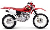 Honda XR250R service manual repair 1996-2004 XR250