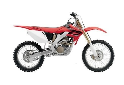 Product picture CRF250R service manual repair 2004-2009 CRF250