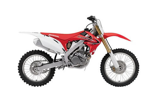 Product picture CRF250R service manual repair 2010-2013 CRF250