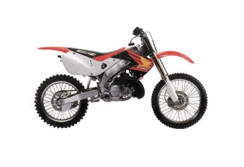 Product picture CR250R service manual repair 1997-1999 CR250