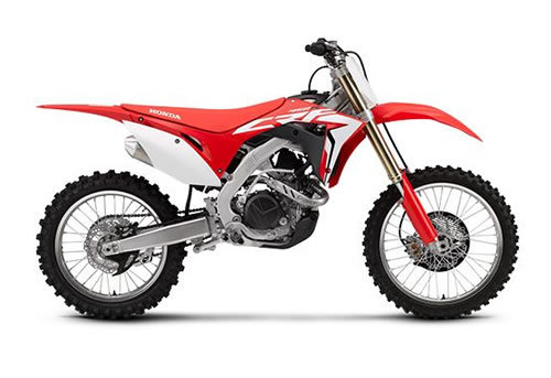 Product picture CRF450R / CRF450RX service manual repair 2017 CRF450