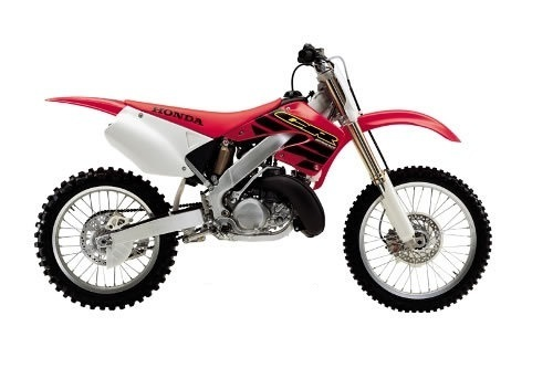 Product picture Honda CR250R service manual repair 2000-2001 CR250