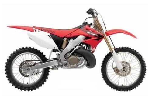 Product picture Honda CR250R service manual repair 2005-2007 CR250