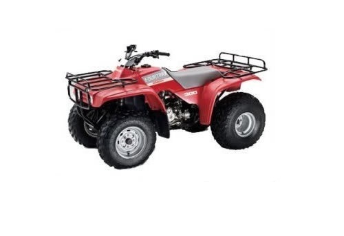 Product picture Honda FourTrax 300 service manual repair 1995-2000 TRX300