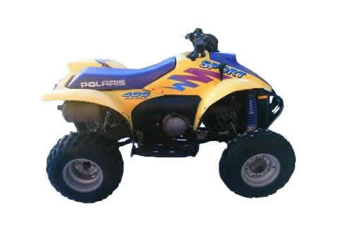 Product picture Polaris ATV service manual repair 1996-1998