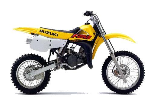Product picture Suzuki RM80 service manual repair 2000 RM 80