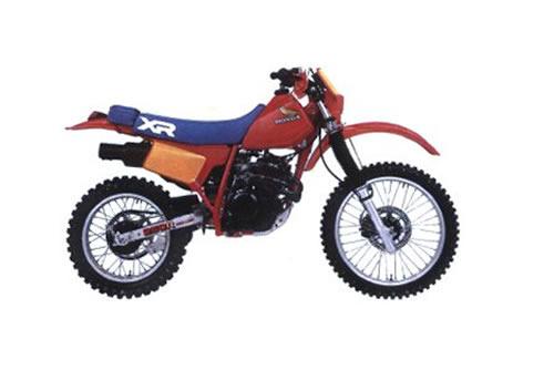 Product picture Honda XR200R / XR250R service manual repair 1984-1985 XR200 XR250