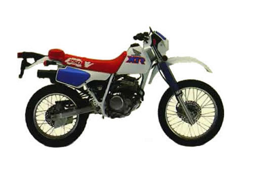 Product picture Honda XR250L service manual repair 1991-1996 XR250