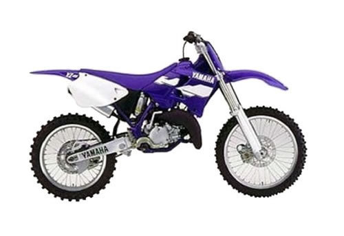 Product picture Yamaha YZ125 service manual repair 1999 YZ 125