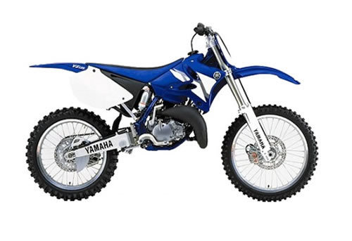 Product picture Yamaha YZ125 service manual repair 2002 YZ 125
