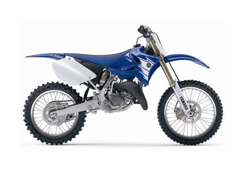 Product picture Yamaha YZ125 service manual repair 2007 YZ 125
